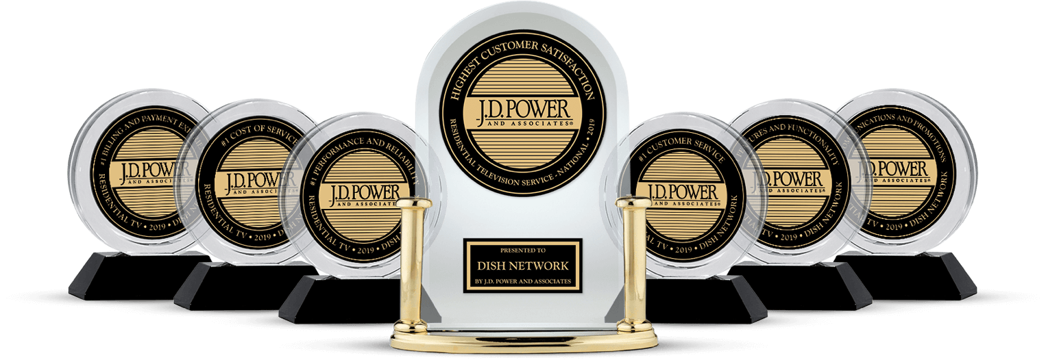 DISH Customer Satisfaction - Ranked #1 by JD Power - Carroll's Satellite in Lancaster, CA - DISH Authorized Retailer