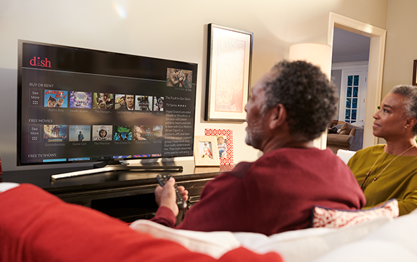 Customers 55+ Receive their first On Demand Movie Rental FREE Each Month from Carroll's Satellite in Lancaster, CA