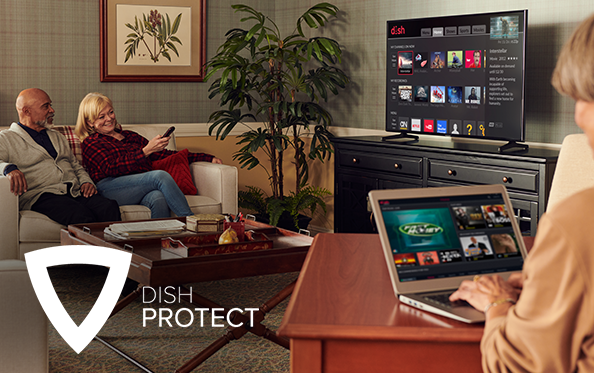 Get DISH Protect from Carroll's Satellite in Lancaster, CA