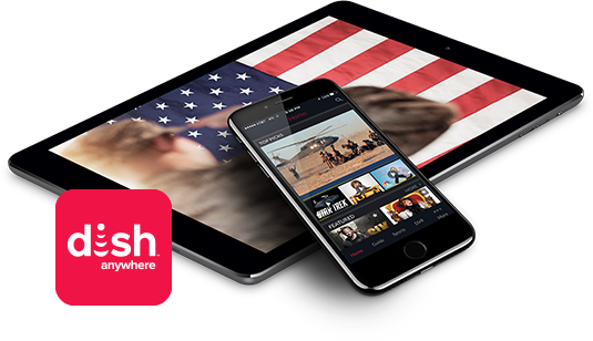 DISH Anywhere from Carroll's Satellite in Lancaster, CA - A DISH Authorized Retailer